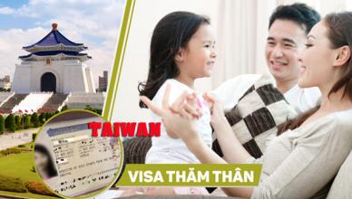 quy trinh xin visa tham than Dai Loan
