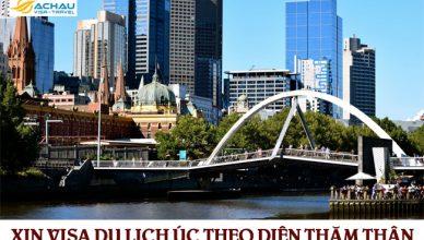 Xin visa du lịch Úc theo diện thăm thân được không?