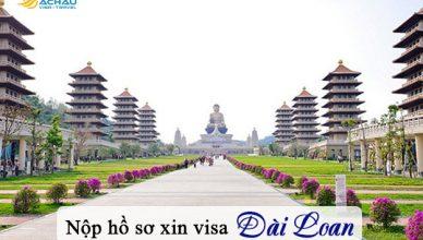Nhờ người đại diện nộp giúp hồ sơ xin visa Đài Loan được không?