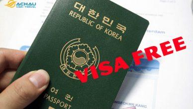 Miễn visa Hàn Quốc cho du khách Việt Nam năm 2018