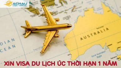 Visa du lịch tự túc Úc có thể xin được thời hạn 1 năm không?
