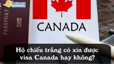 ho chieu trang co xin duoc visa canada hay khong