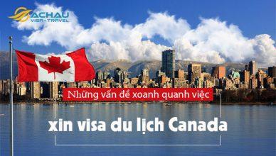 Những vấn đề xoay quanh việc xin visa du lịch Canada