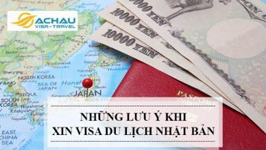 Muốn xin visa du lịch Nhật Bản bạn không nên bỏ qua thông tin sau