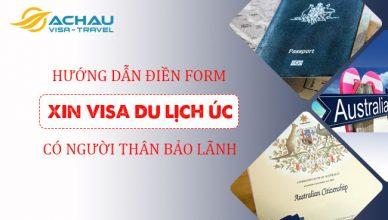 Hướng dẫn bảo lãnh du lịch thăm thân Úc bằng visa 600
