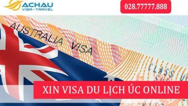 Hướng dẫn xin visa du lịch Úc online tự túc trong 2 phút1