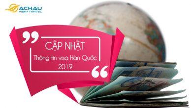 Hướng dẫn xin visa Hàn Quốc mới nhất