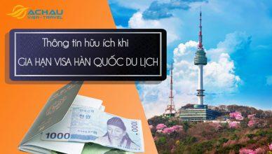 Gia hạn visa Hàn Quốc