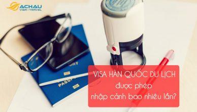 Thời hạn dử dụng visa Hàn Quốc diện du lịch